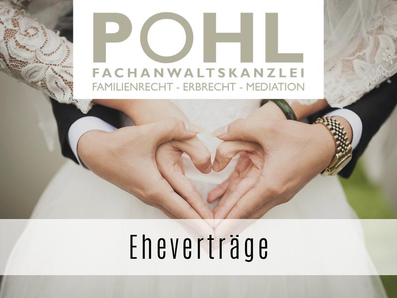 Eheverträge - Ihr Fachanwalt Matthias Pohl in Eckernförde
