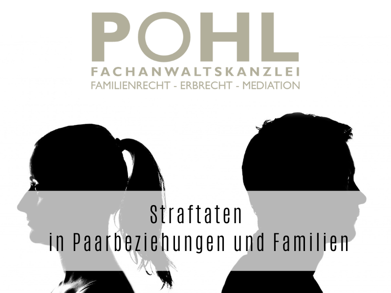 Straftaten in Paarbeziehungen und Familien - Rechtsanwalt Felix Flemming in Eckernförde